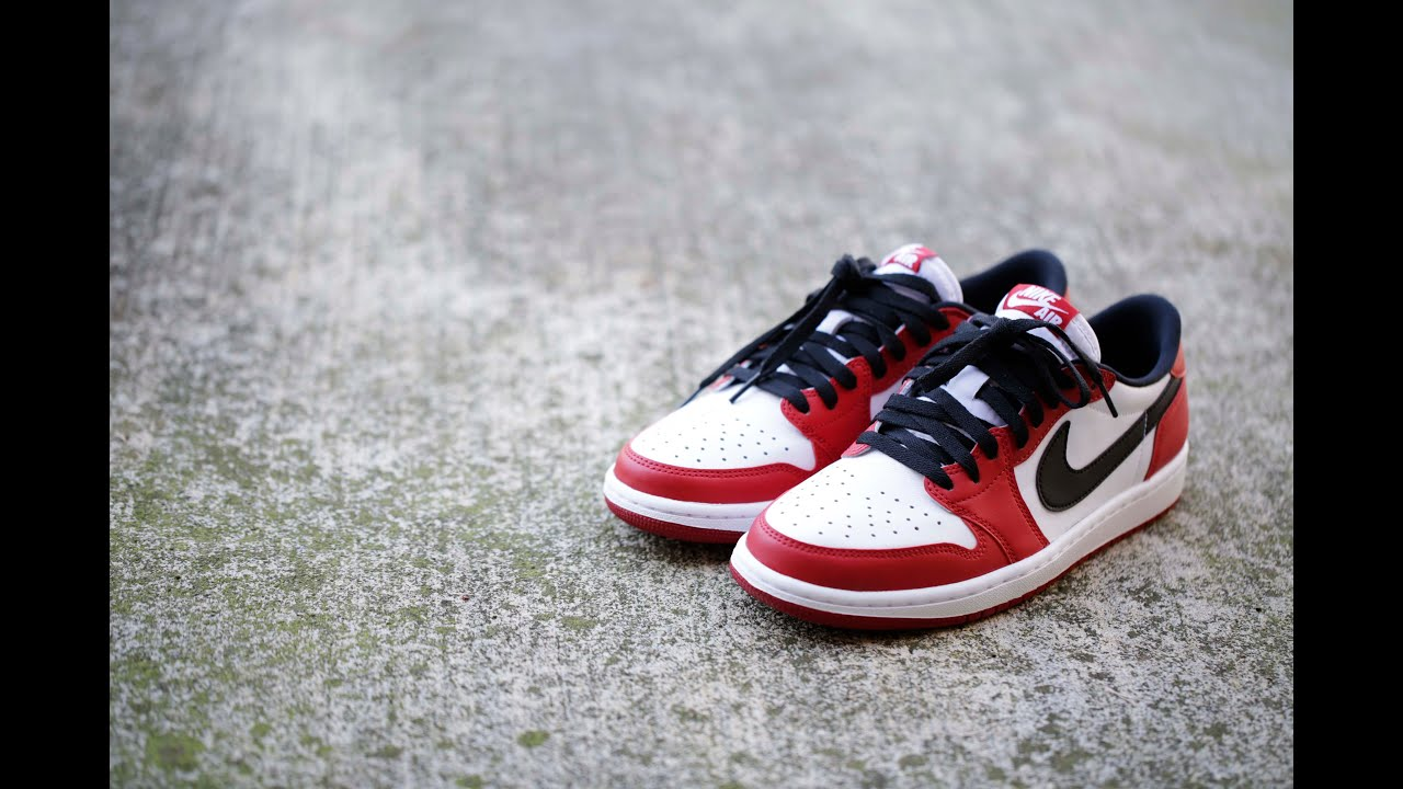 013bebf1ae2 Air Jordan 1 Retro Low OG - Chicago (2016) - YouTube