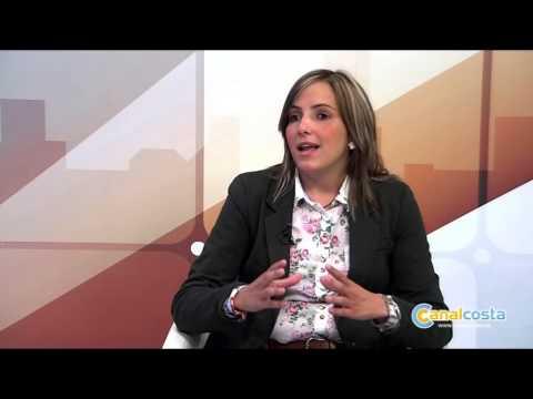 Isabel López y Mª del Carmen Beltrán, en Canal Costa TV