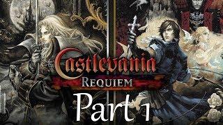 Castlevania Requiem: Symphony of the Night 100% Walkthrough - Part 1 - Intro (PS4 Pro)