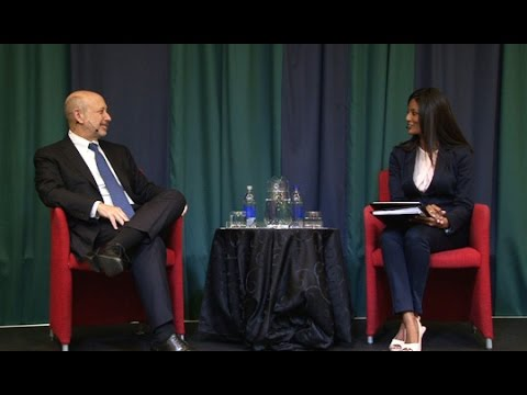 Chairman & CEO, Goldman Sachs Group on the Global Economy and Recovery