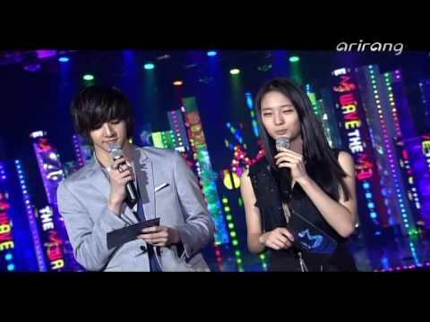 100704 Arirang The M Wave MC Krystal Cuts
