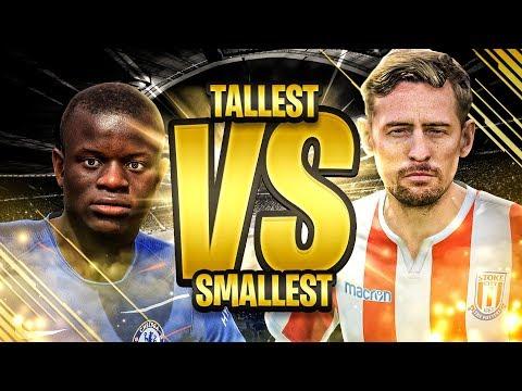 TALLEST VS SMALLEST TEAM IN FIFA!! | GORILLA VS FAZE TASS | FIFA 19 ULTIMATE TEAM
