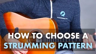 How To Choose A Strumming Pattern