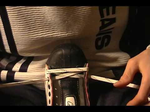 How to LACE ice-hockey skates