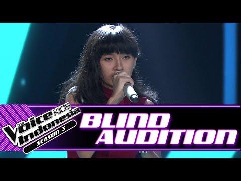 Ninaya - Mercy | Blind Auditions | The Voice Kids Indonesia Season 3 GTV 2018