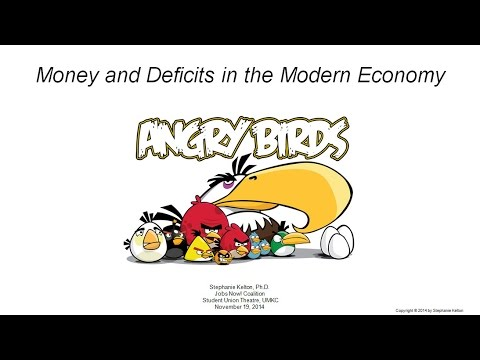 "The ""Angry Birds"" Approach to Understanding Deficits in the Modern Economy"