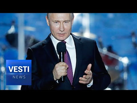 """Putin Visits Sevastopol to Commemorate 4th Anniversary of """"Crimean Spring"""" and Reunification"""