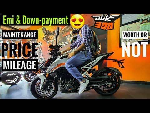 KTM Duke 390 Bs6 Review|| Emi & Down-payment😱 Mileage & Maintenance|| DheerajVlog