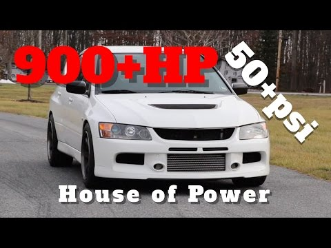 House of Power 900+hp 55psi EVO 9