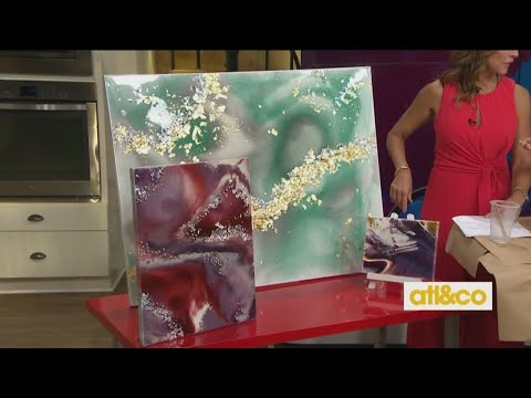 Epoxy Art Pour with Lynn Lilly