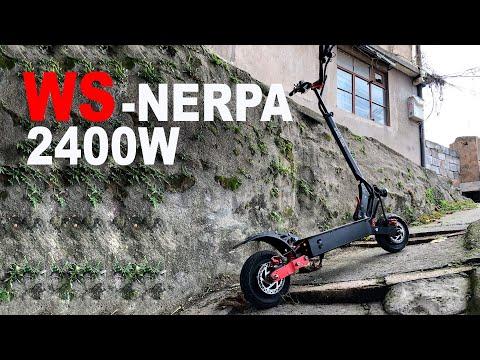 WS-NERPA 2400W на АКБ Panasonic. Лучший бюджетный электросамокат! Убийца Kugoo G-booster и G1.