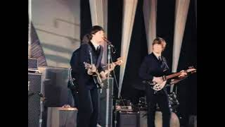 The Beatles - All My Loving Live At Hollywood Bowl 1964 (Colorized Video)