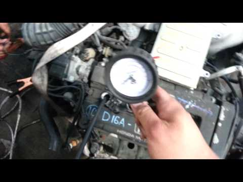 HONDA B16A DOHC VTEC OBD0 88-91 JDM ENGINE COMPRESSION TEST