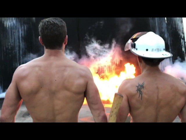 Australian Firefighters Calendar 2018 shoot