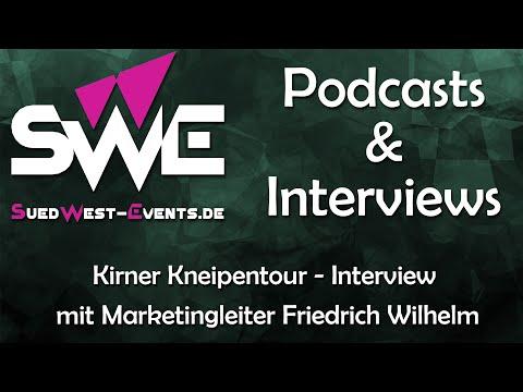 Podcast Kirner Kneipentour - interview mit Marketingleiter Friedrich Wilhelm