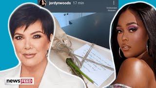 Kris Jenner Gifts Jordyn Woods With PEACE Offering?!