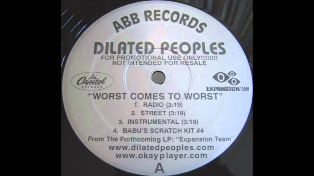 Dilated Peoples - Worst Comes To Worst (Instrumental) - YouTube