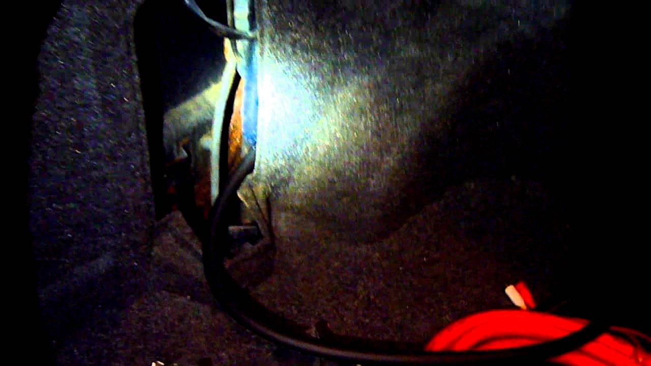 1999 Subaru Legacy Amp Wiring Install Video 4 - YouTube