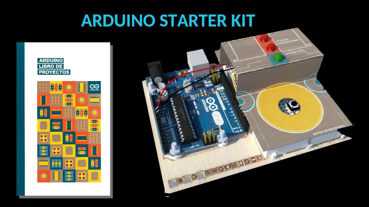 Arduino starter kit traducción del manual al español youtube