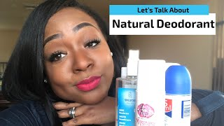 Natural Deodorant Chit Chat!
