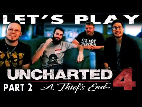 """Let's Play Uncharted 4 Part 2 - """"Crash into Me"""""""