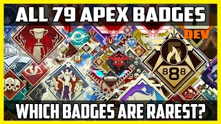 There Are 79 Badges In Apex Legends, But Which Are The Rarest?