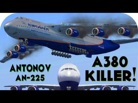 A380 Killer - Antonov AN-225   FSX HD   Freeware