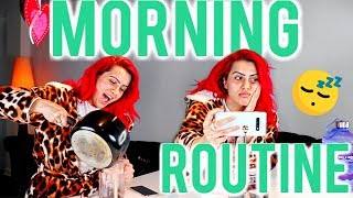 MY HEALTHY MORNING ROUTINE |
