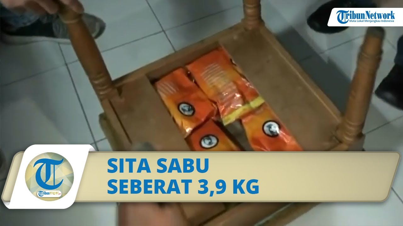 Video Detik-detik Penangkapan Pengedar Narkoba di Kamar Hotel, Polisi Sita Sabu Seberat 3,9 Kg