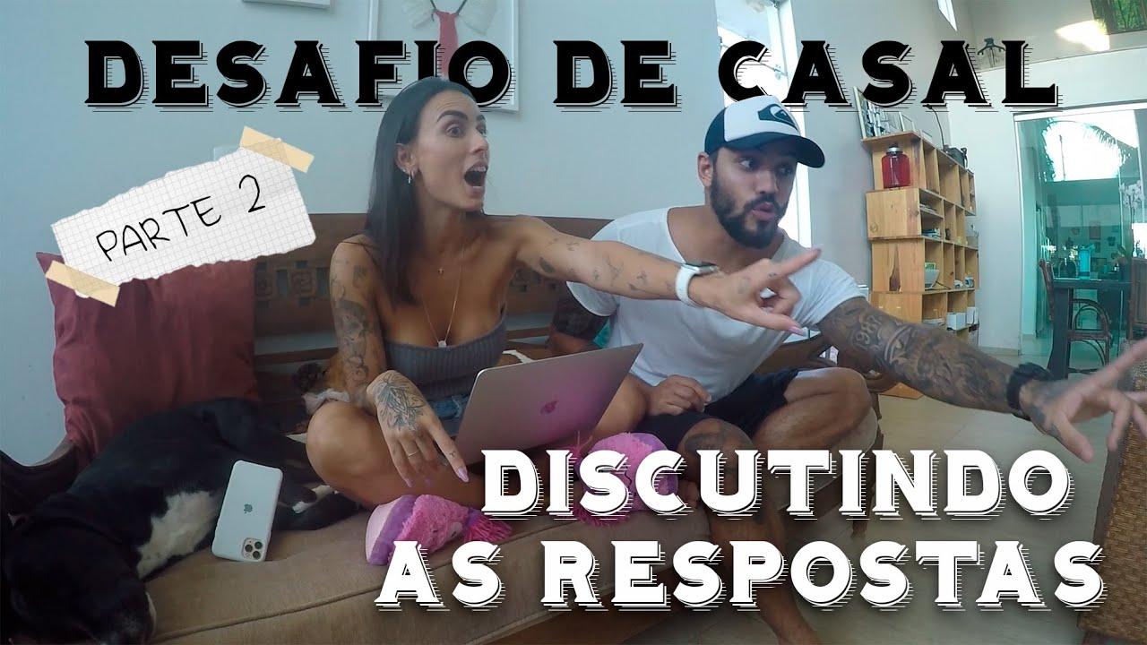 DISCUTINDO AS RESPOSTAS DA TAG DE CASAL
