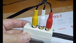 Comment faire de Câbles audio-vidéo pour les vieux Caméscopes