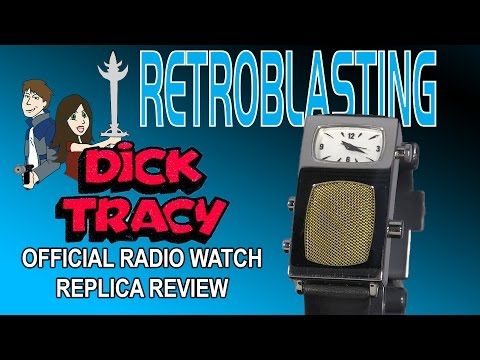 Dick Tracy Radio Watch Official Replica Review - Ivory & Horn 70th Anniversary