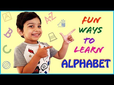 3 Fun ways to learn Alphabet | Alphabet Activities for preschoolers