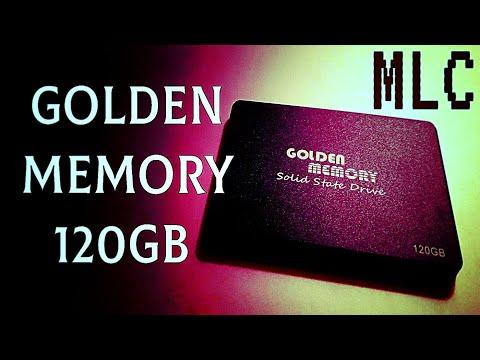 """Golden Memory 120GB 2.5"""" SATAIII MLC (AV120CGB/GMSSD120GB)"""