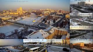 Смотреть видео Россия Омск прямой эфир. Russia Omsk live. онлайн