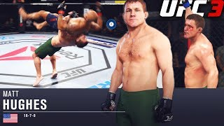 EA Sports UFC 3: Matt Hughes Is Tough To Deal With! UFC 3 Online Ranked Gameplay