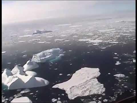Avvicinamento al ghiacciaio di Isortoq