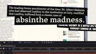 Edit Session: MR150 - Understanding Absinthe