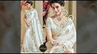 Navratri Day 15-10-2018 ||Beautiful  White color All Collection For Womens||