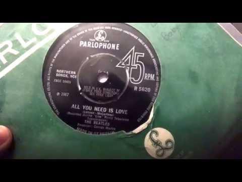 Beatles Vinyl Collection: SINGLES 1967-1968