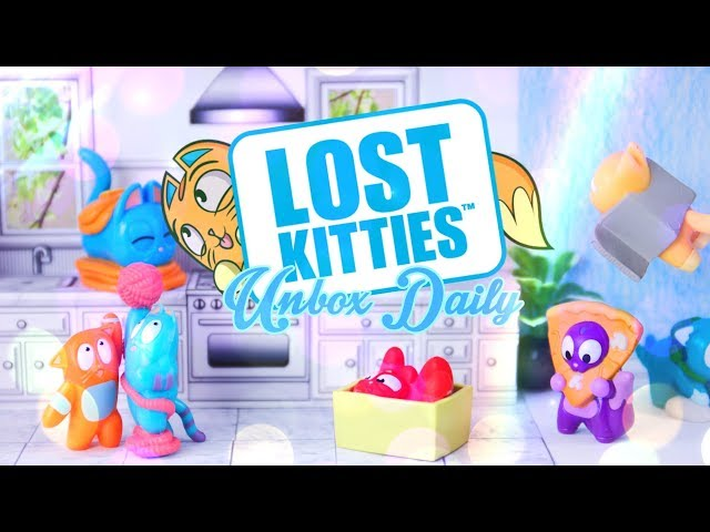Unbox Daily: Lost Kitties Blind Boxes PLUS ALL NEW Itty Bitty Lost Kitties!!