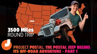 homepage tile video photo for Watch This Rusted-Out $500 Postal Jeep Begin A Seemingly-Impossible Off-Road Adventure