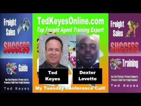 [TKO] ♦ Freight Sales Expert Guest - Dexter Levette ♦ TedKeyesOnline.com