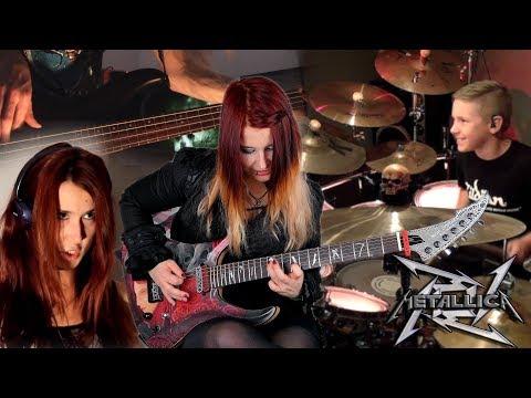 METALLICA - For Whom The Bell Tolls [COVER] | Jassy J , Avery Drummer, Sandra Szabo & WhiteSlash