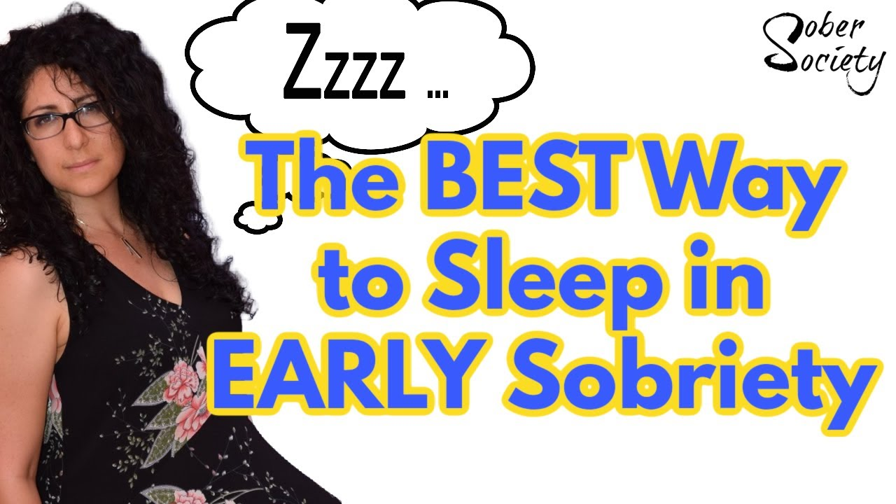 The Best Trick For Sleeping in Early Sobriety