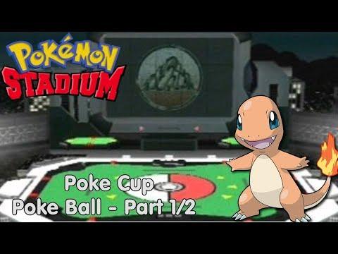 Slim Plays Pokemon Stadium - Poke Cup: Poke Ball (Part: 1/2)