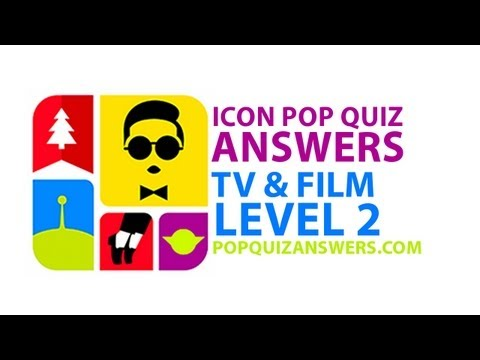 Icon Pop Quiz Answers (TV & Film) Level 2 for iPhone, iPad, Android