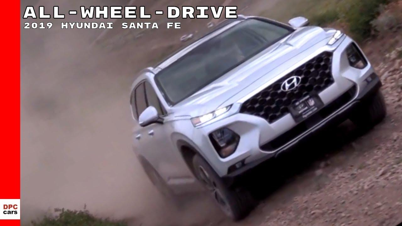 2019 Hyundai Santa Fe All Wheel Drive Off Roading