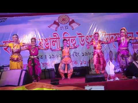 NAMAMI BRAHMAPUTRA DANCE COVER BY JB CREATIONS