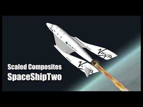 Scaled Composites SpaceShipTwo - Orbiter Space Flight Simulator 2010